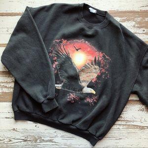 Vintage eagle sweatshirt